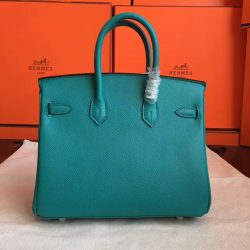 2b385d2e46 ... China Cheap Hermes Blue Paon Epsom Birkin 25cm Handmade Bag Modesto