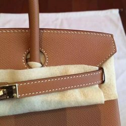 929803c96b ... Original Hermes Brown Epsom Birkin 25cm Handmade Bag Virginia Beach