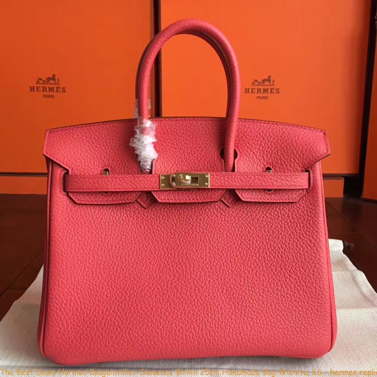 1fab9f60d8 The Best Deals Hermes Bougainvillier Clemence Birkin 25cm Handmade Bag ...