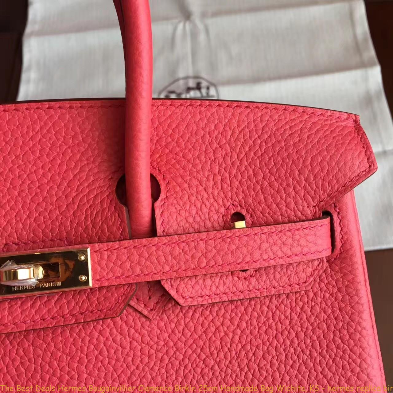a181903c655 The Best Deals Hermes Bougainvillier Clemence Birkin 25cm Handmade Bag  Wichita, KS – hermes replica ...