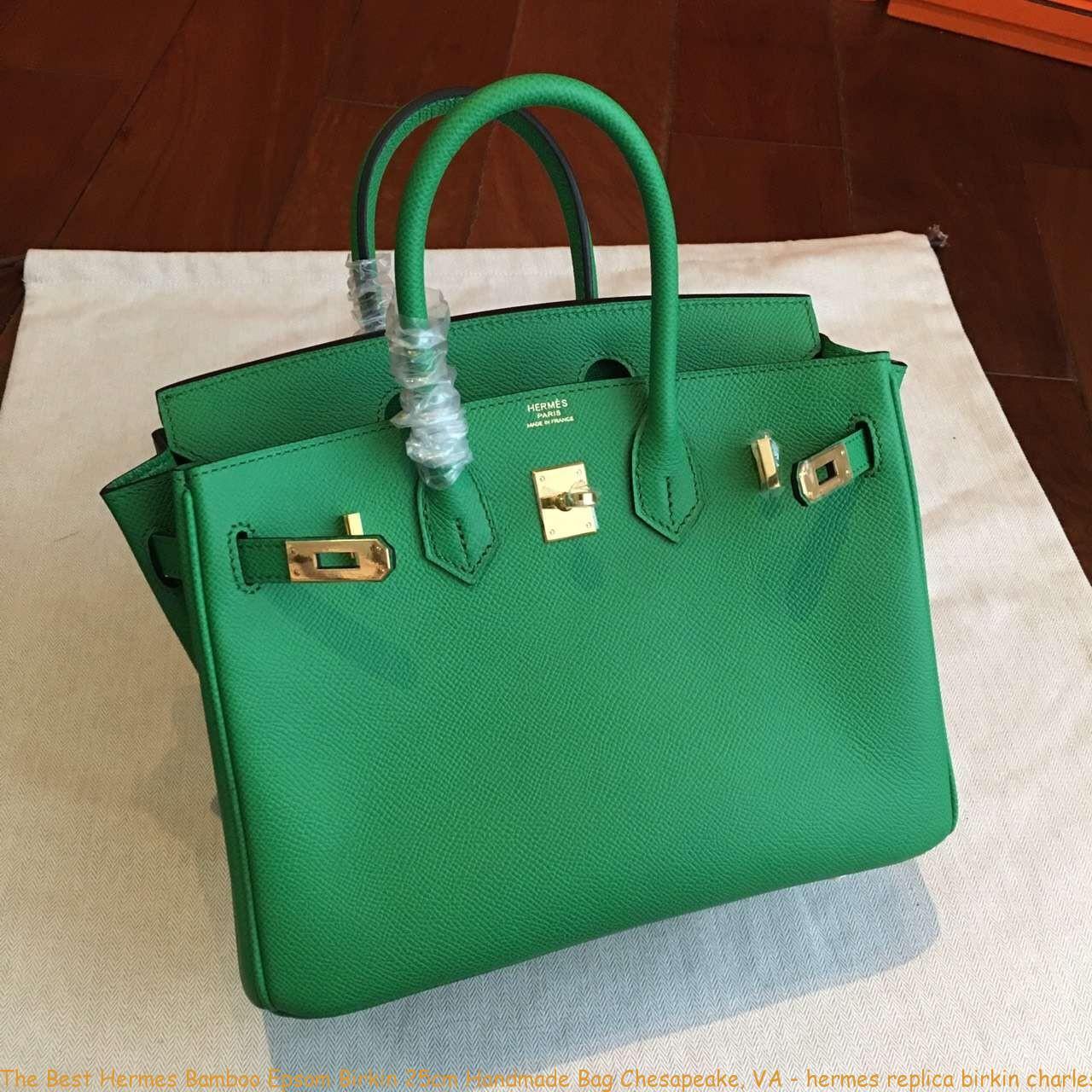 The Best Hermes Bamboo Epsom Birkin 25cm Handmade Bag Chesapeake 049df87e63fb6